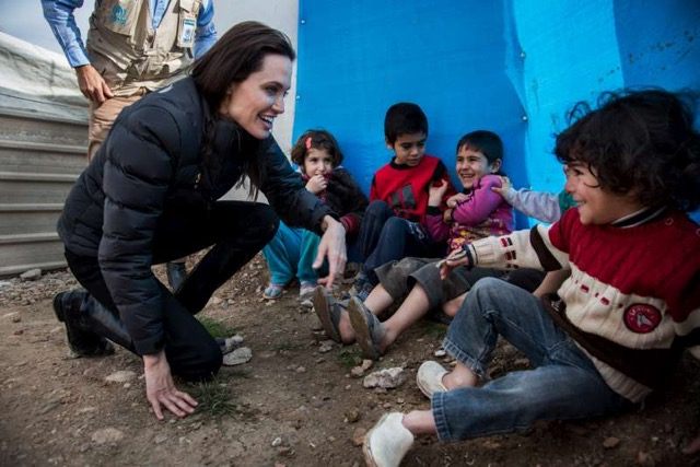 World Refugee Day- Angelina Jolie