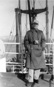 Capt. Leonard LaRue, 1950
