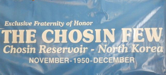 Poster from the Chosin Few reunion in San Diego, 2016