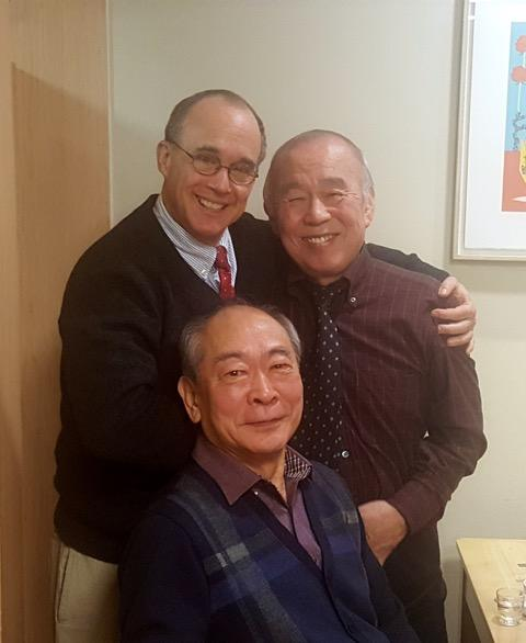 Ned with Mad Dog and Dr. Kim