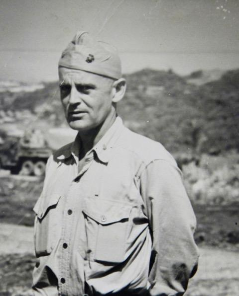 Col. Edward H. Forney at Inchon