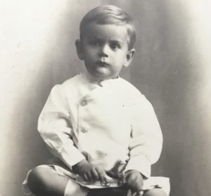 Childhood picture of Col. Forney