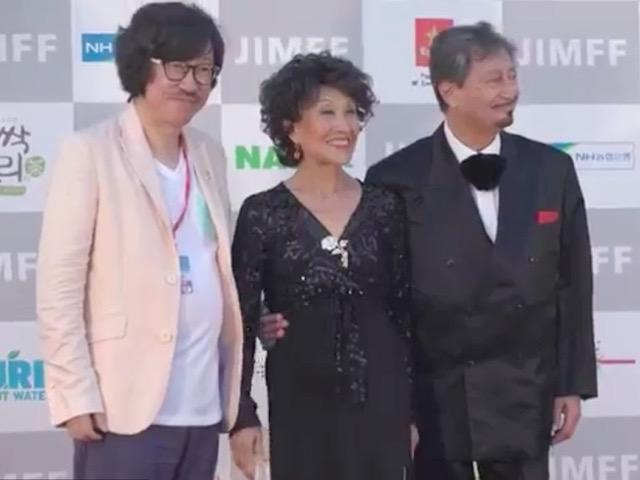 Director Kim Dae-hyun, Mia Kim and Tommy Vig