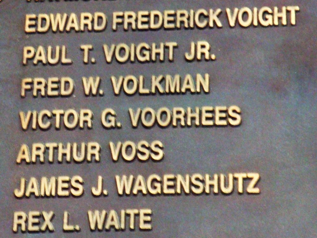 Fallen heroes from Michigan (Photo courtesy of Ned Forney).