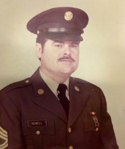John Nowell in 1983